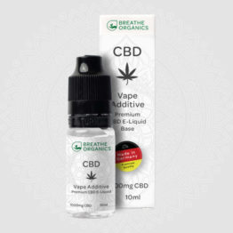 Breathe Organics - Base Vape Additive CBD E-Liquid 4