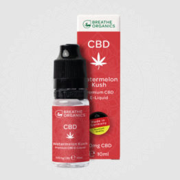 Breathe Organics - Watermelon Kush CBD E-Liquid 11